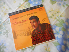 Tennessee Ernie Ford This Lusty Land Part 2 EP 45 & Picture Sleeve