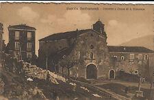 NP5879 - GUARDIA SANFRAMONDI BENEVENTO - CONVENTO E CHIESA VIAGGIATA 1923