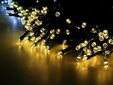 Lycheers colour Solar String 55ft 17m 100 LED Fairy Lights Waterproof