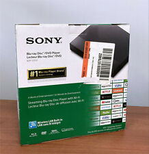Sony BDP-S3700 Blu-ray Disc DVD Player Streaming Media Player Wi-Fi