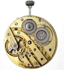 Swiss Lever High Grade Pocket Watch Movement Spares Or Repairs C137
