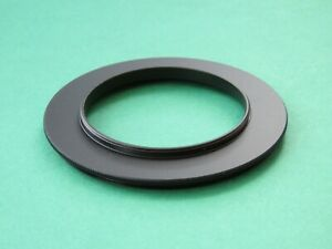 52mm-72mm Male to Male Double Coupling Ring Reverse Adapter 52mm-72mm