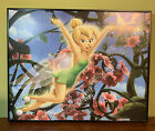 """Disney, Tinker Bell: In the Garden with Pixie Dust Size: 14""""x11 """" in black frame"""