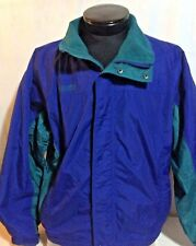 Columbia Blue Green Columbia Jacket Large Winter Jacket