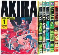 Akira Vol.1-6 Manga Complete Lot Set Comics Japanese Edition