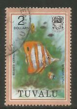 Tuvalu 1979 $2 Fish definitive-Attractive Marine Life Topical (112) fine used