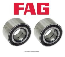 For Audi Q7 Land Rover Porsche VW Touareg Pair Set of Two Front Wheel Bearings