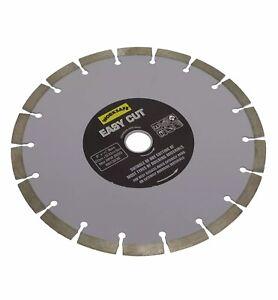 Worksafe Sealey Silver Easy-Cut Diamond Blade Ø230 x 22mm WDEC230 New