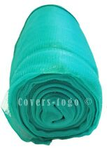 GREEN DEBRIS NETTING 1M X 50M SCAFFOLDS GARDEN ALLOTMENTS NET