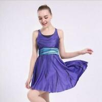 Women Pleated Dress Cartoon Printed dress Sleeveless dress 1296