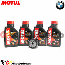 KIT TAGLIANDO OLIO + FILTRO OLIO MOTUL 7100 10W50 BMW 1200 R GS LC 2015