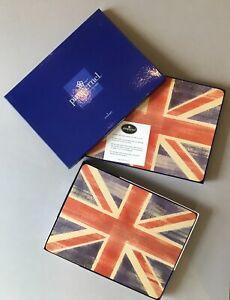12 x Pimpernel Portmeirion Union Jack placemats