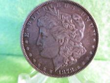 1878 morgan silver dollar, extra fine condition 1st year of morgans