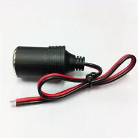NS Cable Cigar Plug 12/24V Female Car Cigarette Adapter Socket Connector Lighter