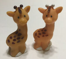 Fisher Price Little People Giraffes Lot of 2 Figures Zoo
