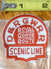 Patch #198 D&RGW RR / Royal Gorge Route / Scenic Line ( Railroad Patch )