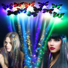 Colorful LED Wigs Glowing Hair Braid Clip Hairpin Decoration Party Hair Decor