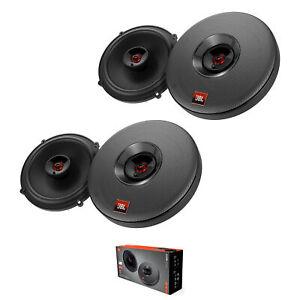 "2 Pair of JBL CLUB 625SQ 6.5"" 450 Watt 3 Ohm 2-Way Coaxial Car Speakers"
