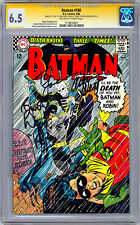BATMAN #180 CGC-SS 6.5 SIGNED *ADAM WEST & BURT WARD* ORIG 1960'S TV SERIES 1966