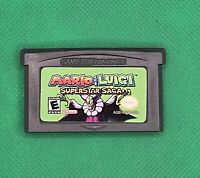 Mario & Luigi: Superstar Saga (Game Boy Advance, 2003) *Read Description*