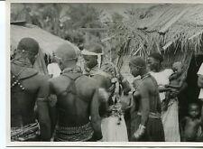 PHOTOGRAPHIE ANCIENNE AFRIQUE MOYEN CONGO TCHIKOUMBI FEMMES DE RACE VILI 1940