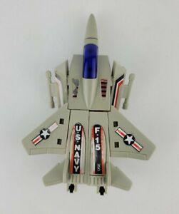 Vintage 80s Go Bots Moto Bot F 15 Jet Fighter Transforming Robot Figure