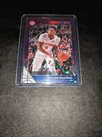 2019-20 NBA Hoops Premium Stock Purple Disco Prizm Langston Galloway
