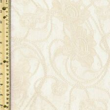 Antique Rose Design Lace Fabric by the Yard - Style 106
