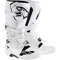 2017 Alpinestars Tech 7 MX Boots - White Black