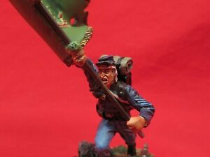 CONTE COLLECTIBLES AMERICAN CIVIL WAR ACW57164 CHARGING FLAGBEARER SOLDIER   81