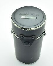 Genuine Black Olympus OM Zuiko Hard Lens Case 75-150mm (#T599)