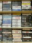 $1.97-$24.97 CASSETTE TAPES CLASSIC ARENA HARD ROCK 1960s 70s 80s BUILD YOUR LOT <br/> FREE SHIPPING ON ALL COMBINED ORDERS OVER $25!!!!