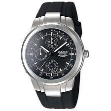 Casio Edifice EF-305-1A EF-305 Screw lock back Watch Brand New