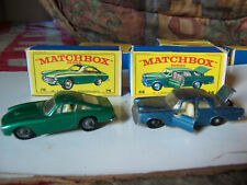 MATCHBOX 46 MERCEDES 300/75 FERARI BERLINETTA w ORIGINAL BOX