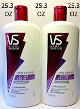 2 Pack VS Vidal Sassoon Pro Series Boost And Lift Volume Conditioner 25.3oz