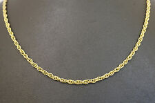 "9Carat Yellow Gold 18"" Prince of Wales Link Chain (2.5mm Wide Link)"