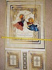 Heavenly 24567-E By QT Guardian Angel Angles Cross Dan Morris Cotton fabric PNL
