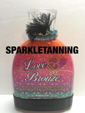Supre Tan LOVE BRONZE Dark Bronzing Serum Indoor Tan Tanning Bed Lotion