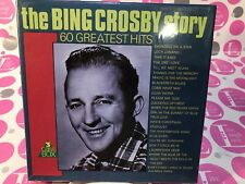 The Bing Crosby Story 60 Greatest Hits 3 Cassette Bx Set MP3071/3 Holland NEW/SE