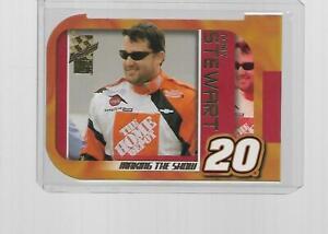 2003 PRESS PASS VIP RACING MAKING THE SHOW TONY STEWART DIE-CUT #MS 10