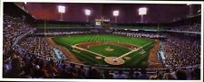 Bill Goff Art Postcard Comiskey Twilight Diptych CHICAGO WHITE SOX 1991