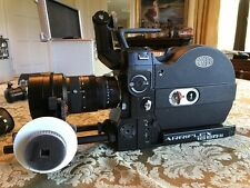 Arriflex 16 SRII 16mm Camera Zeiss 10-100mm F1.8 Zoom, follow focus, more L@@K!