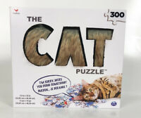 New Cardinal The CAT 300 Piece Puzzle  The Hair Raising Fluffy Puzzle Sealed