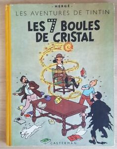 Tintin Les 7 boules de cristal B4 (1950)