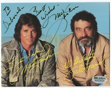 MICHAEL LANDON 5.5x7 postcard SIGNED (inscribed) SGC Authenticated actor d.91
