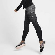 Nike Pro Hyperwarm Women's Training Tights XS Gray Black Gym Training New