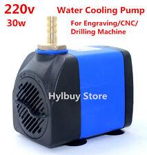 AC 220V 30W refroidissement à eau pompe pour moteur à broche gravure forage machine CNC