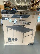 GoSports Mid-Size Table Tennis Game Set - Indoor/Outdoor Portable Table Tennis
