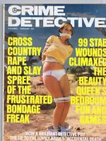 ORIGINAL Vintage February 1976 Crime Detective Magazine GGA