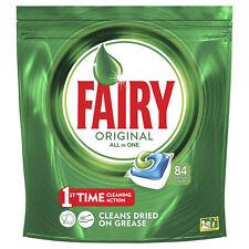 Fairy Original Tutto in Uno Caps Lavastoviglie Confezione 84 Capsule All in One